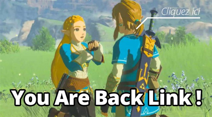 you are back link