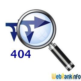 Backlinks et erreurs 404